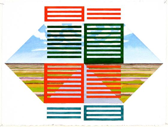 Lines Imposed Upon A Prairie Landscape, 1995