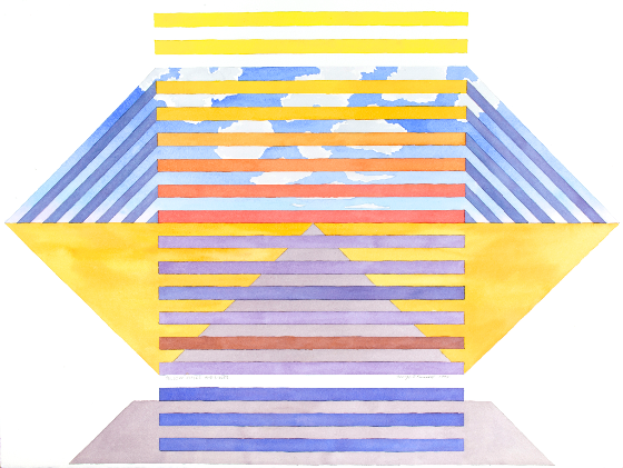 Yellow Fields And Lines, 1995