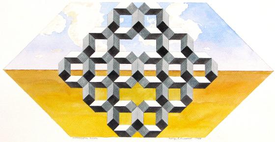 Monumental Mosaic, 1988, Not Arches Paper