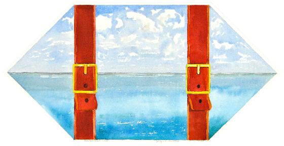 Belted Seascape, 1984