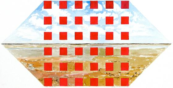 Red Squares, 1986