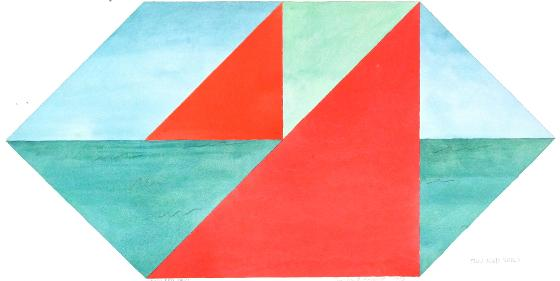 Two Red Sails, 1978