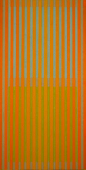 Window with Orange Drapes, 1972